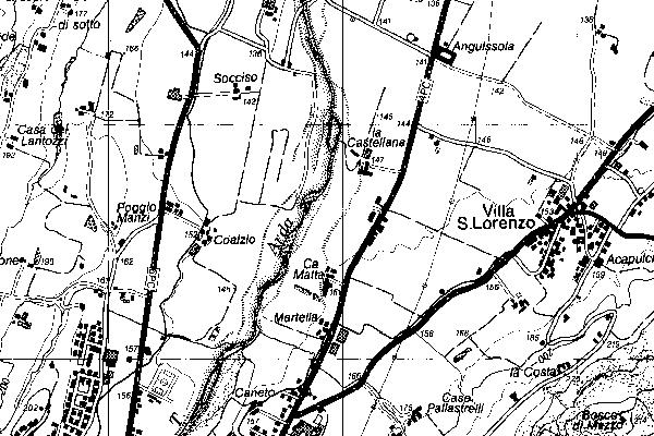 Cartina Topografica Emilia Romagna.Carta Topografica Regionale 1 25 000 Digitale Edizione 1998 2000 Geoportale