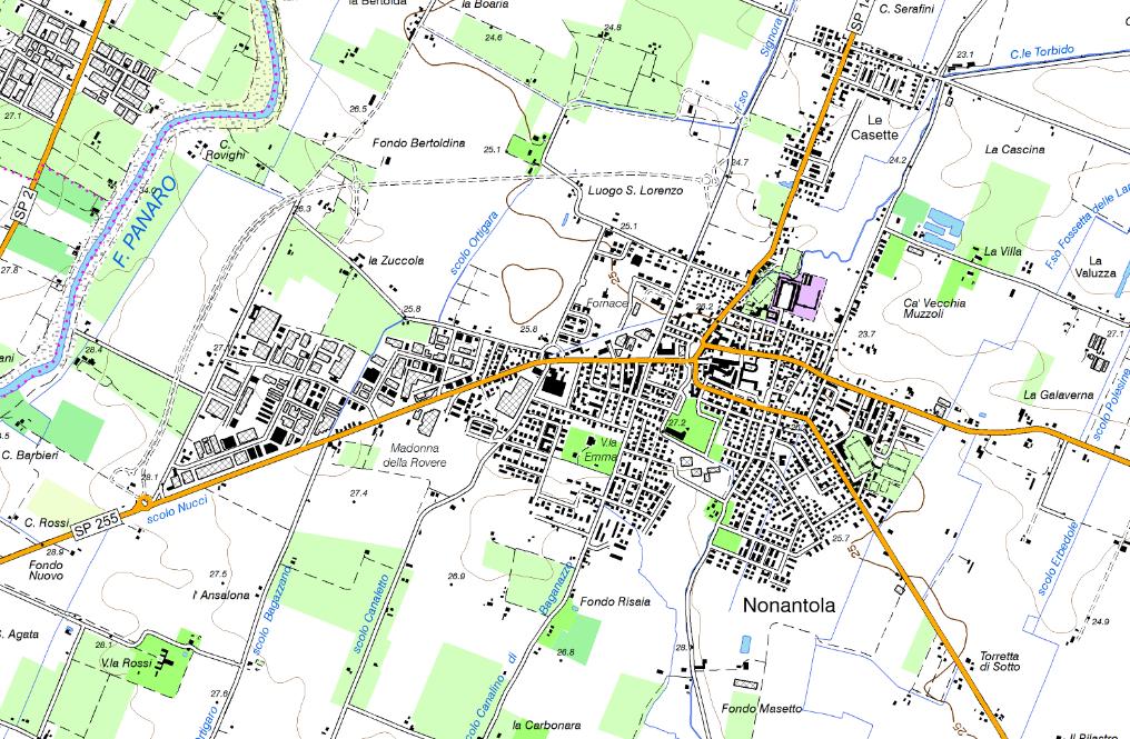 Cartina Topografica Emilia Romagna.Nuova Carta Topografica Regionale 1 25 000 Edizione 2014 Geoportale