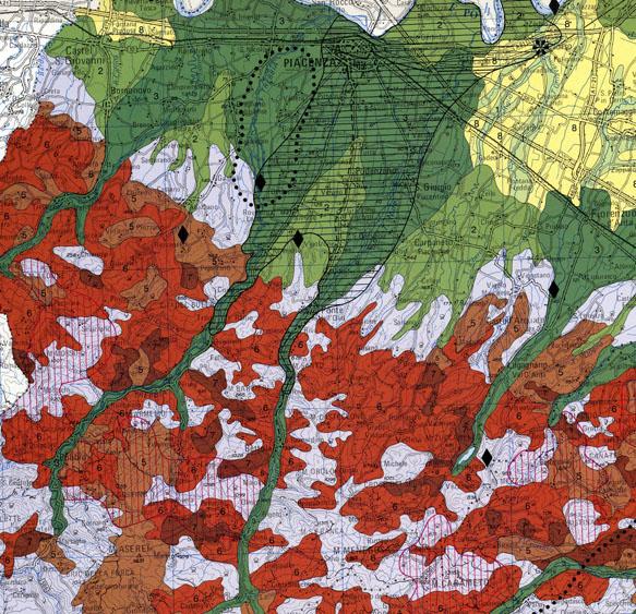 Carta del Rischio Geo-Ambientale 1:250.000 - Edizione 1994