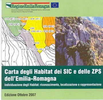 Carta degli habitat dei SIC e delle ZPS dell'Emilia-Romagna - Edizione 2007