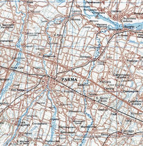 Carta Topografica Regionale 1:200.000 - Edizione 1981