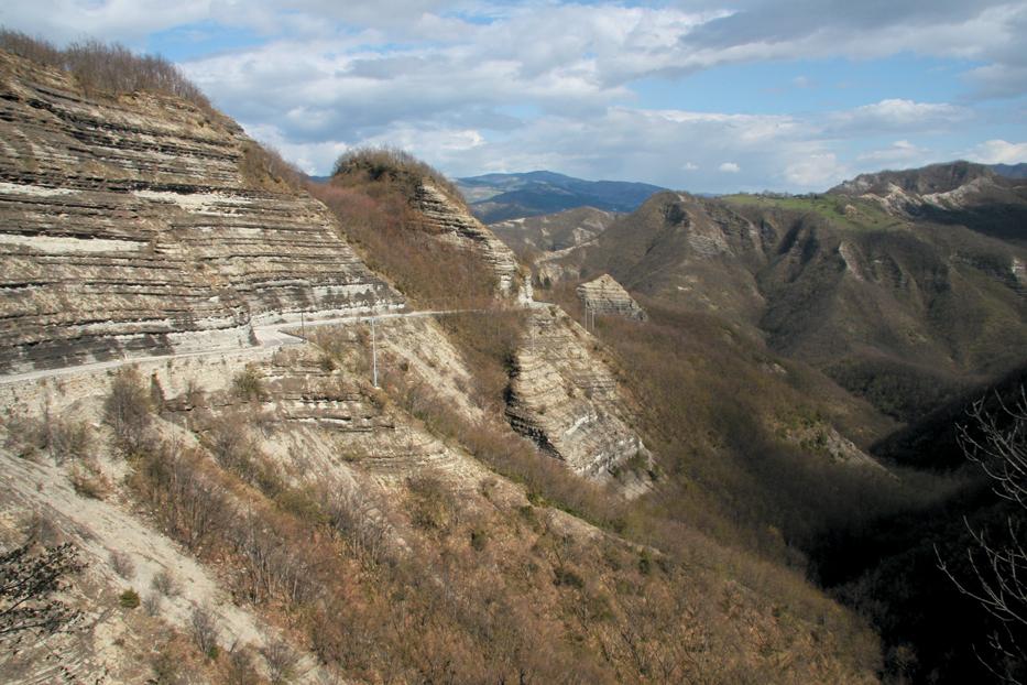 Patrimonio geologico censimento e schedatura for Planimetrie del paese di collina